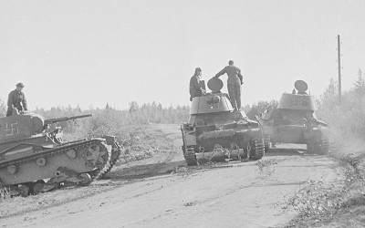 Lappeenrannan panssariestekokeet 1940