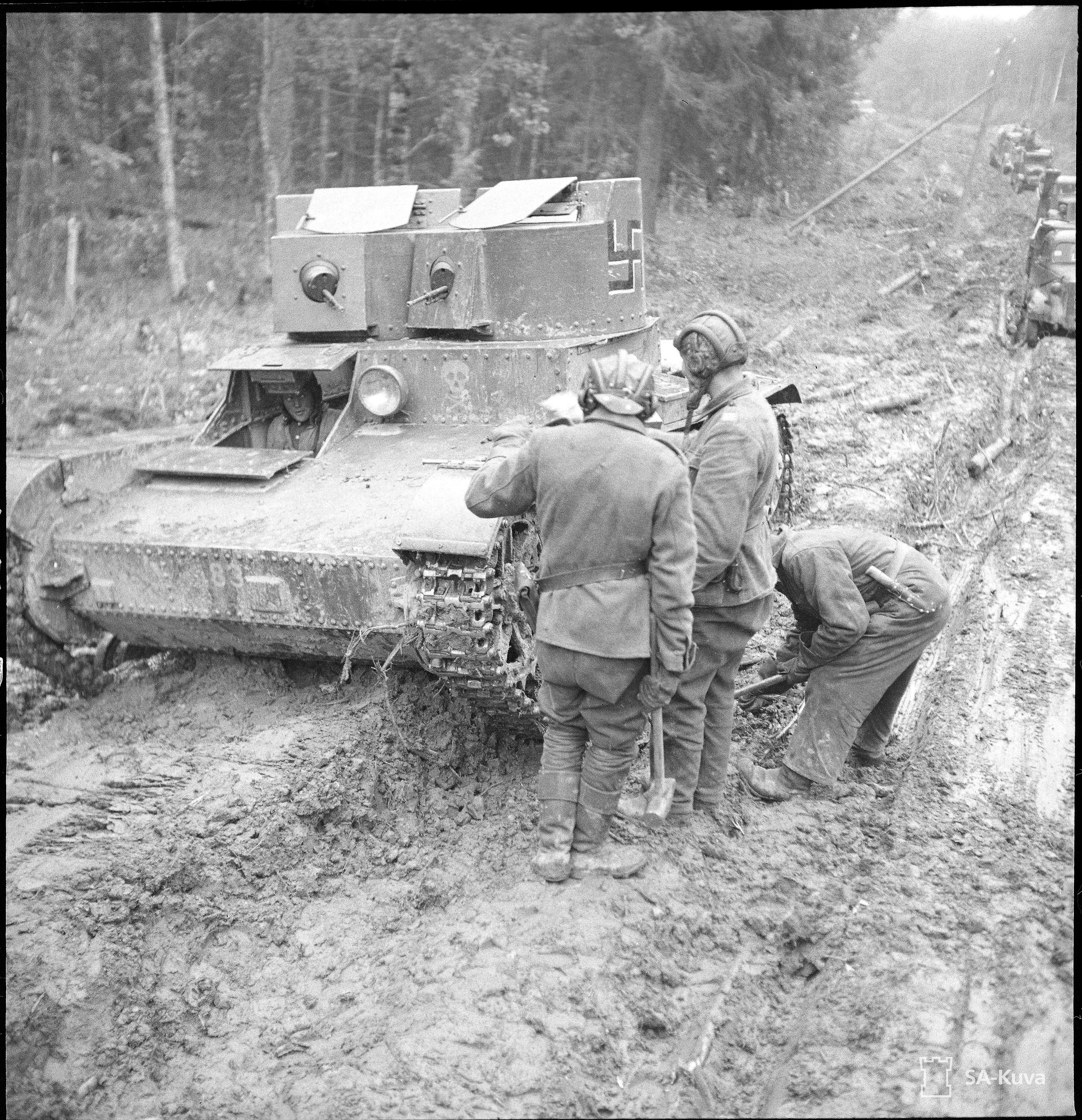 T-26 Syvärillä.