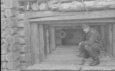 Korsu panssarintorjuntatykille 1944