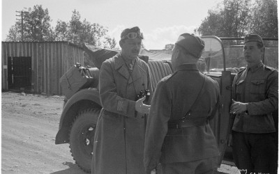 Mannerheim juuttuu mutaan 1942