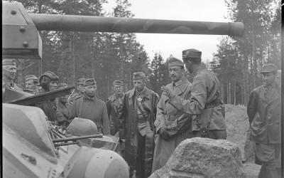 Mannerheim linnoittamisesta 1941