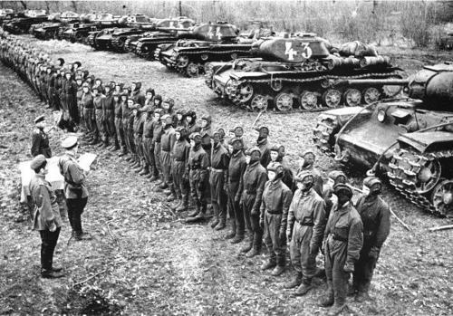 Vaunut rivissä Pohjoinen-Kaukasus 1943