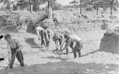 Lappeenranta linnoitettu kaupunki 1945