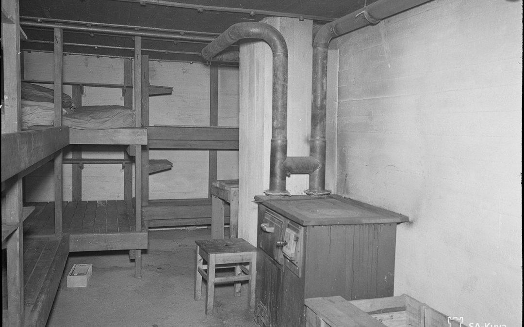 Salpalinja koulutuskäyttöön 1949