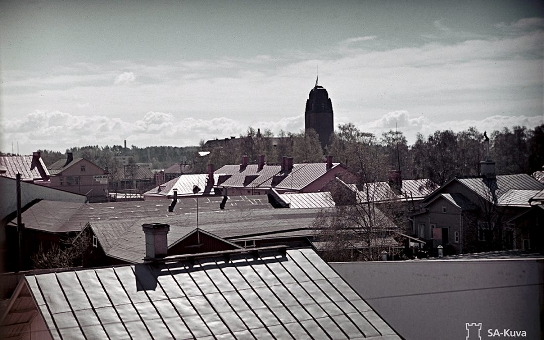 Joensuu 1944 linnoitettu kaupunki