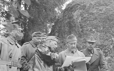 Mannerheim Luumäellä 1940