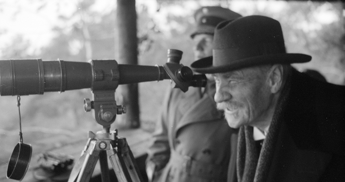 Pehr Evind Svinhufvud 15.12.1861-29.2.1944. Kuva Heinäkuulta 1942. SA173161