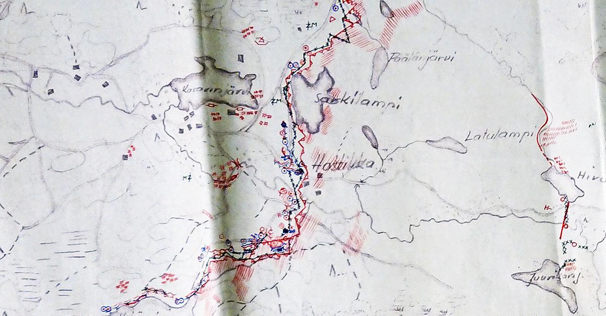 Hostikka, Ylämaa, Lappeenranta, 1940 joulukuu.
