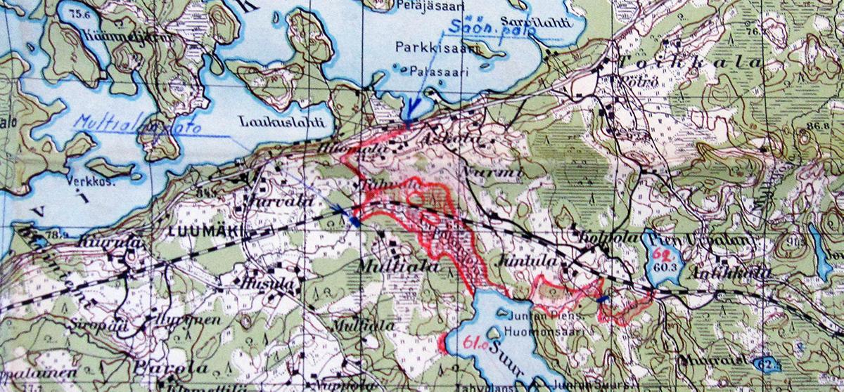 Salpalinja Luumaella 1944 Luento Sotahistoriamatkat Fi